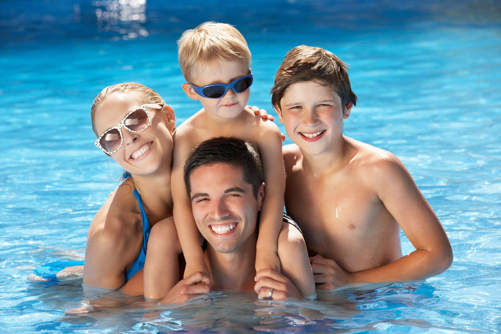 swimming pool financing options for families